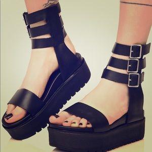 Platform sandals Shelly's of London